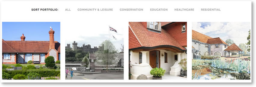 Portfolio Websites from Red Leaf, Chichester
