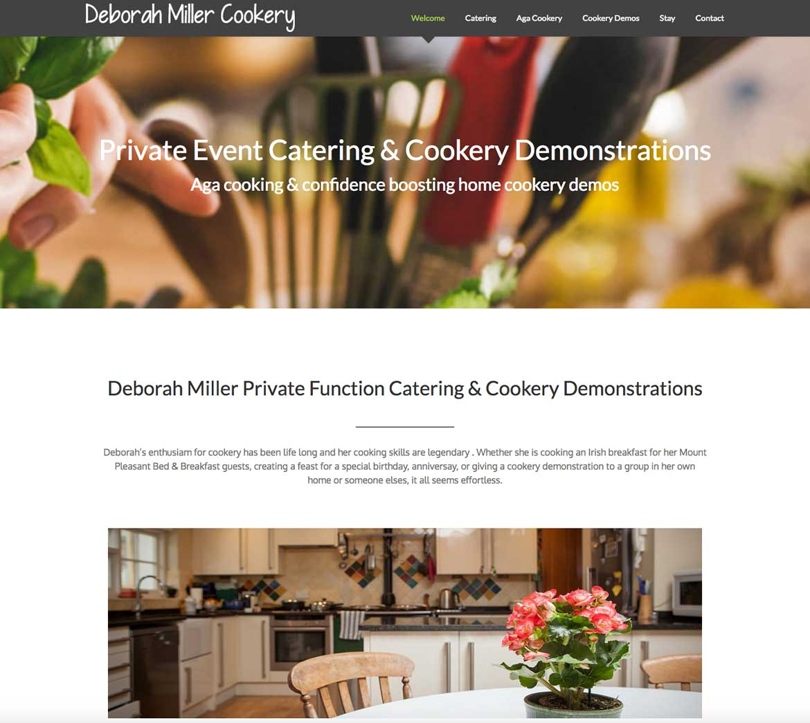 Red Leaf Chichester - Catering & Cookery Demos website