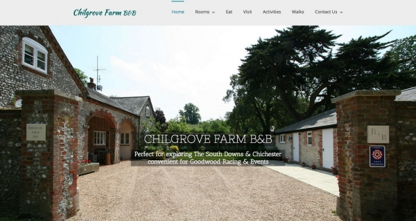Website Design Chichester - New responsive Smart phone friendly websites from Red Leaf
